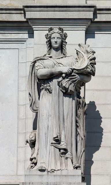 Statue of Ceres.