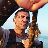 Oliver Haden as Odysseus.