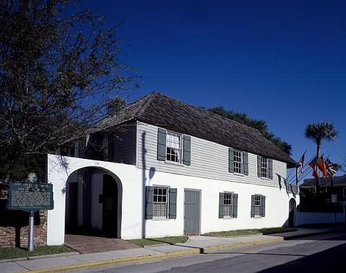 The oldest house in Florida, photographed by Carol M Highsmith.