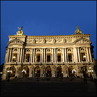 The Opera, Paris.