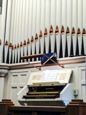 A pipe organ