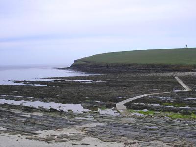 A photograph of Orkney Beach.