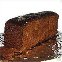 A delicious-looking slab of Parkin.