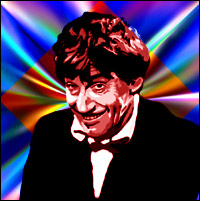 Actor Patrick Troughton as the second 'Doctor Who'. Graphic by Jimster.