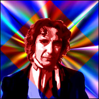 Actor Paul McGann as the eighth 'Doctor Who'. Graphic by Jimster.