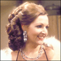 The snobbish Margot from TV comedy series 'The Good Life' famously played by actress Penelope Keith.
