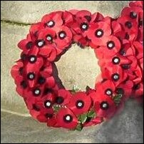 A poppy wreath.