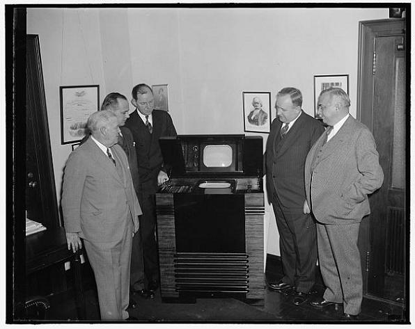 A 1939 'portable' television.