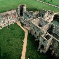 Portchester Castle, Hampshire.