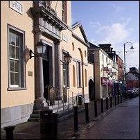 Portlaoise, looking east along Upper Main Street.