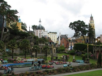 Portmeirion Italianate Village, Wales.