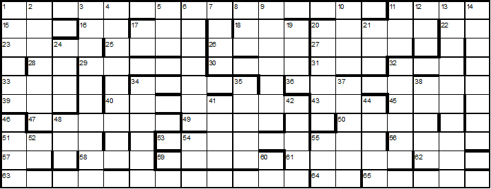 Christmas Crossword 2017