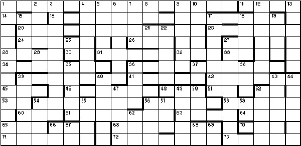 Christmas Crossword 2018