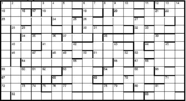 Christmas Crossword 2019
