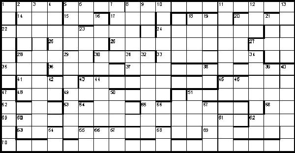 Christmas Crossword 2020