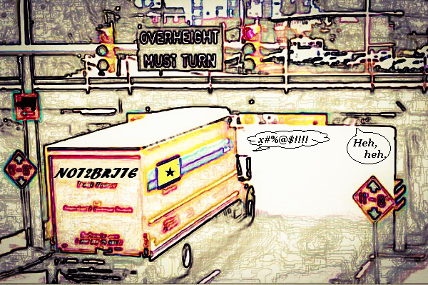 New in the Edited Guide: The Unending Appetite of the Canopener Bridge: A Trucker Tale