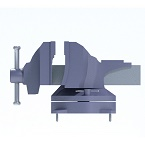 Vise in solid mode