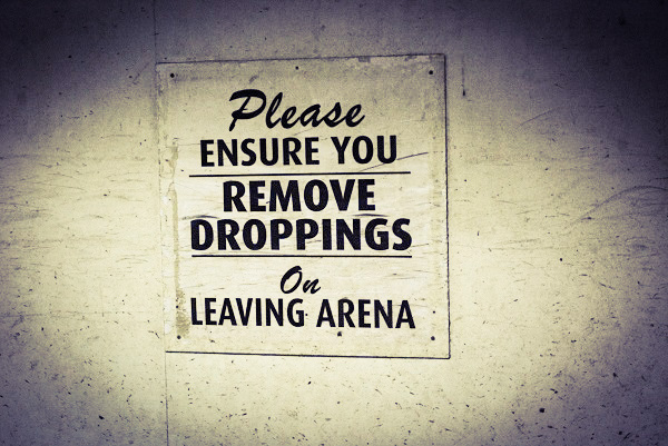 A sign at Wembley Arena