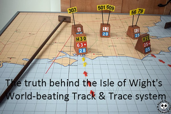 The Isle of Wight's cutting-edge track-and-trace program by Bluebottle