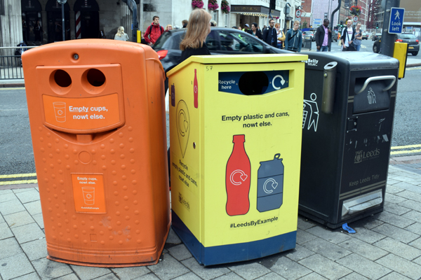 Yorkshire Recycling Bins by Bluebottle