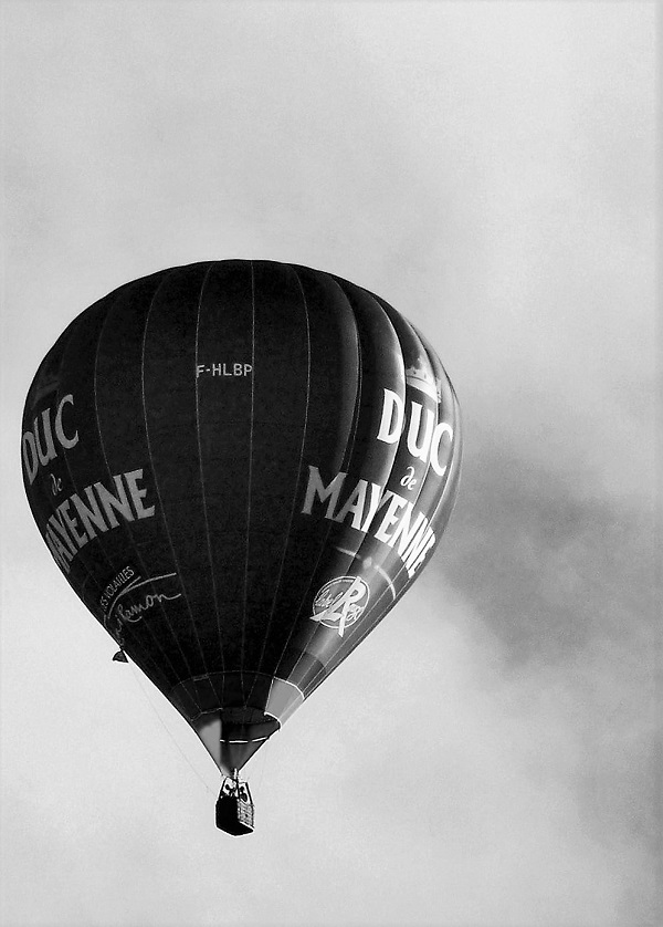Duc de Mayenne, a hot-air balloon by bobstafford