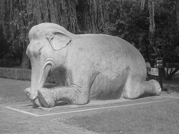 Elephant Statue by BobI