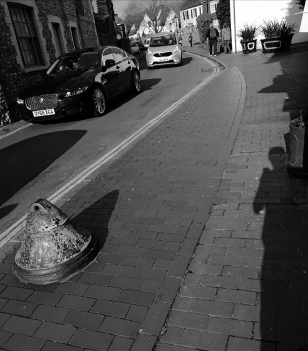 Bell Bollard with Shadow by Cactuscafe