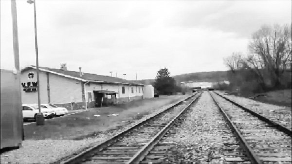 Dubois, PA, railroad tracks, by DG