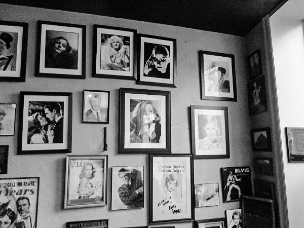 Photo Wall in an Italian Restaurant by DG