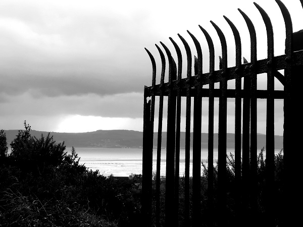 Fence and Sea by Freewayriding