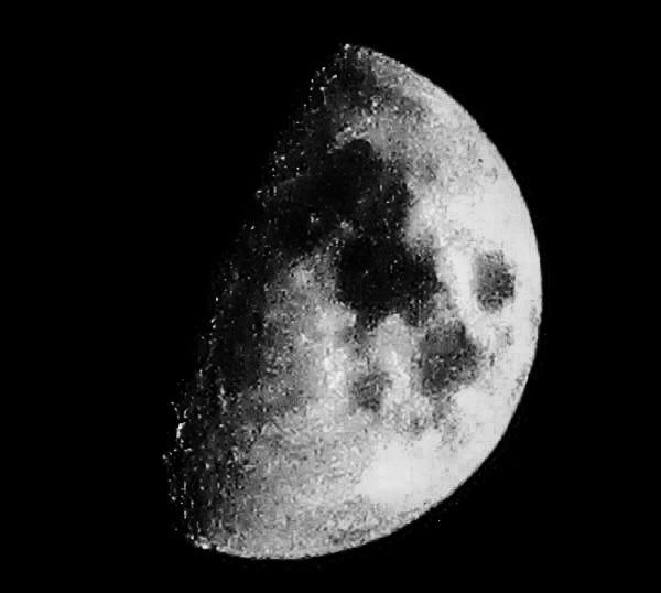 Partial Moon by Dmitri Gheorgheni