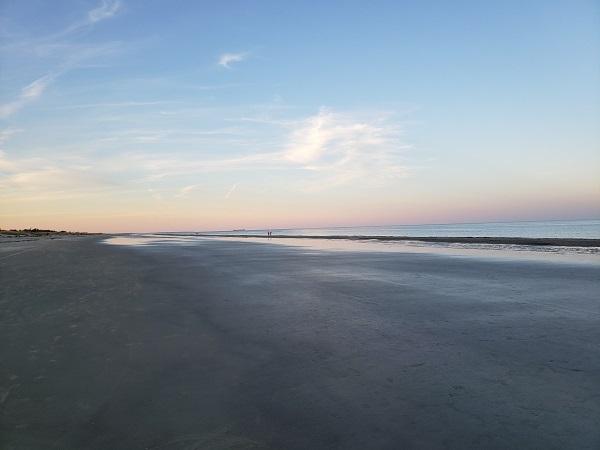 Beach Scene in Georgia by Mrs McGillicuddy
