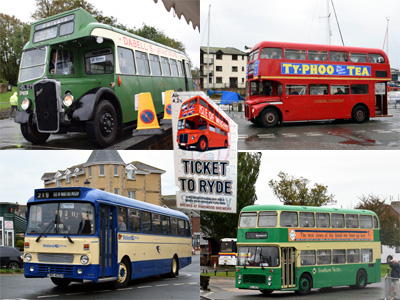 Classic buses and Ringwood's Ticket to Ryde