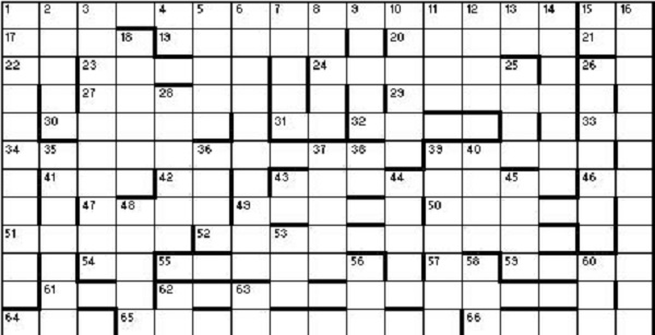 Christmas Crossword 2016