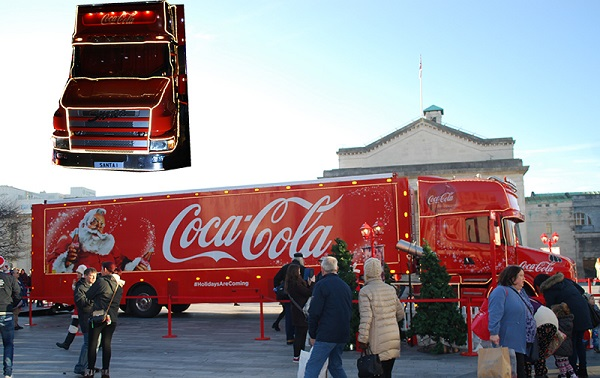 A Christmas Lorry by Bluebottle