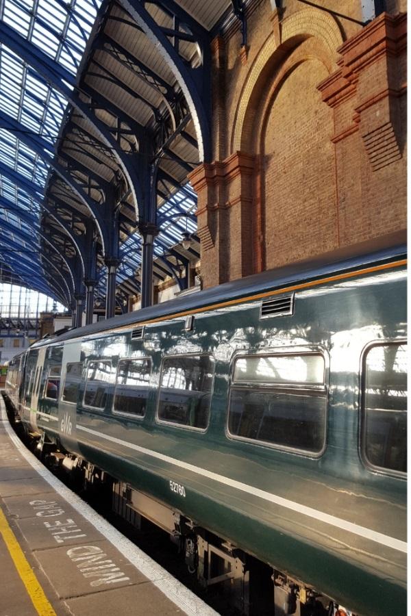 Brighton Train by Cactuscafe