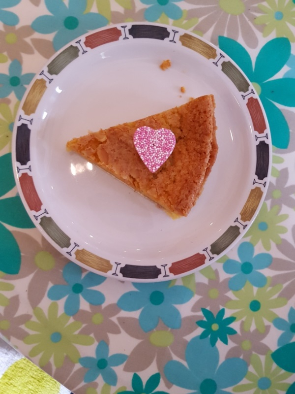 Bakewell Tart by Cactuscafe