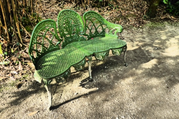Green Bench by Cactuscafe