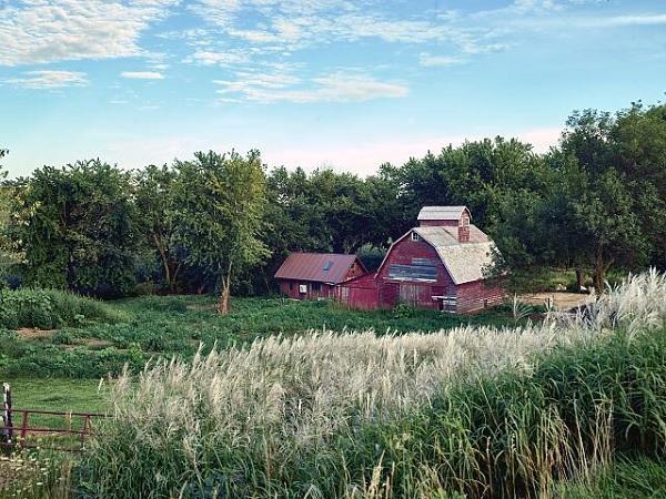 Red Barn, by Carol M Highsmith.