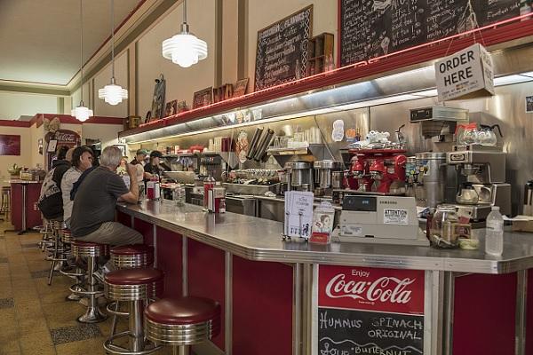 Lunch Counter by Carol Highsmith