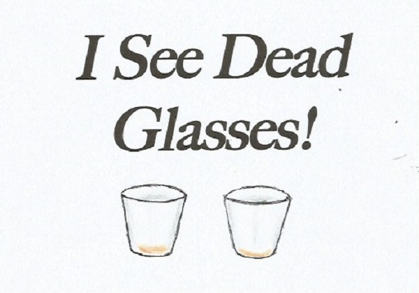 I See Dead Glasses,  by Paigetheoracle