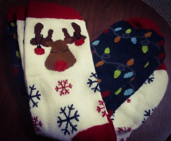 Christmas Socks by DG