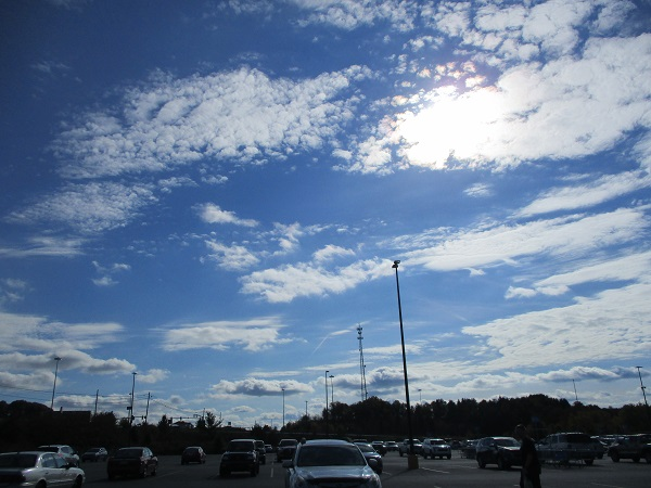 Clouds Over the Parking Lot by Dmitri Gheorgheni
