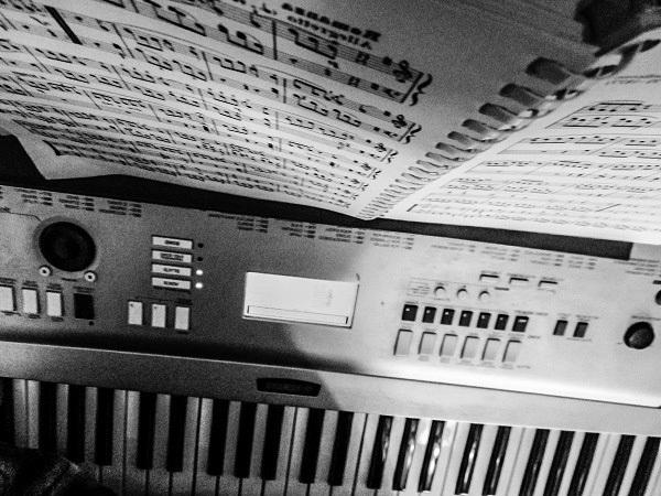 Sheet Music Vertigo by Dmitri Gheorgheni