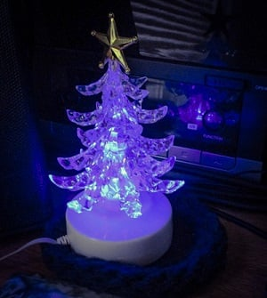Electronic Christmas Tree by DG