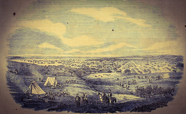 Guess this 'city' from 1851.