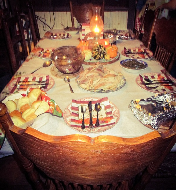 Holiday Table by Dmitri Gheorgheni