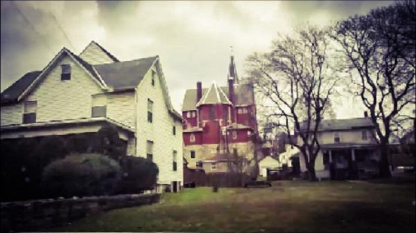 Houses and a Church by Dmitri Gheorgheni