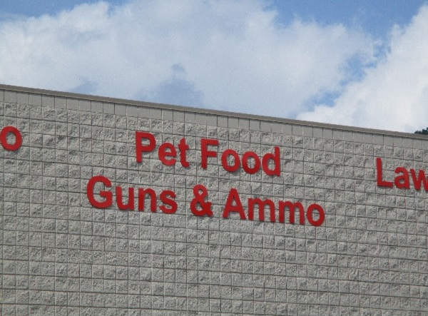 Pet Food, Guns and Ammo Sold Here, by Dmitri Gheorgheni.