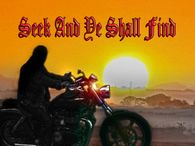 Seek and Ye Shall Find by Freewayriding